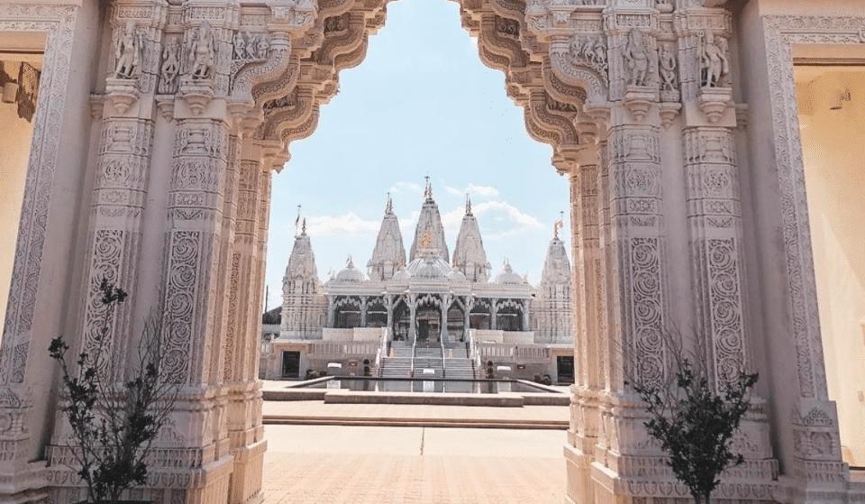 Visit The Breathtaking Hindu Temple In Houston