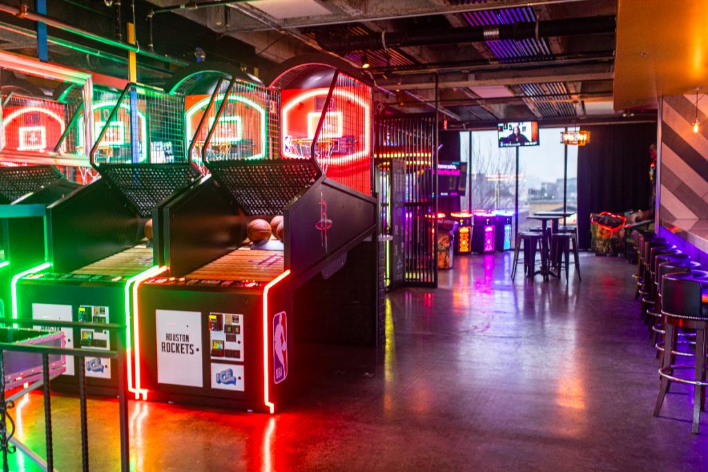 Retro New Arcade-Style Speakeasy Opens In Houston