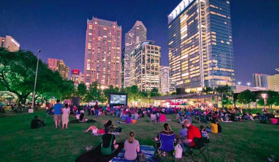 Discovery Green Launches Free Outdoor Screen On The Green This Season