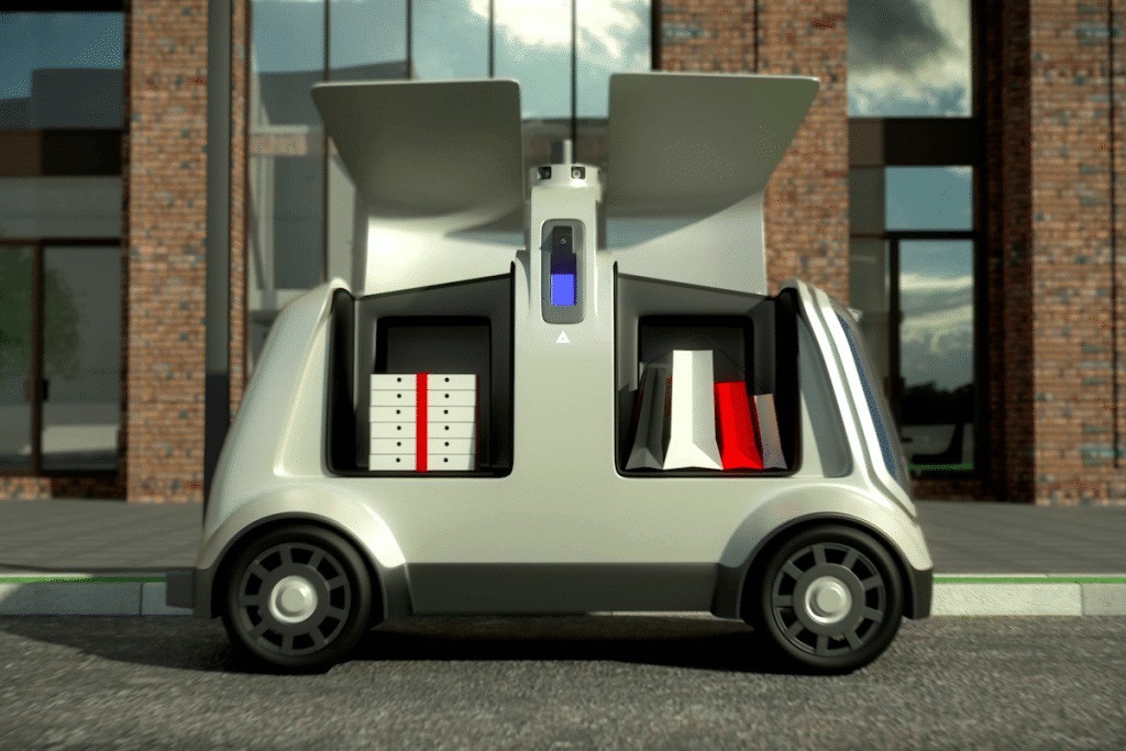 Domino's Deploy Pizza-Delivering Robot Cars In Houston