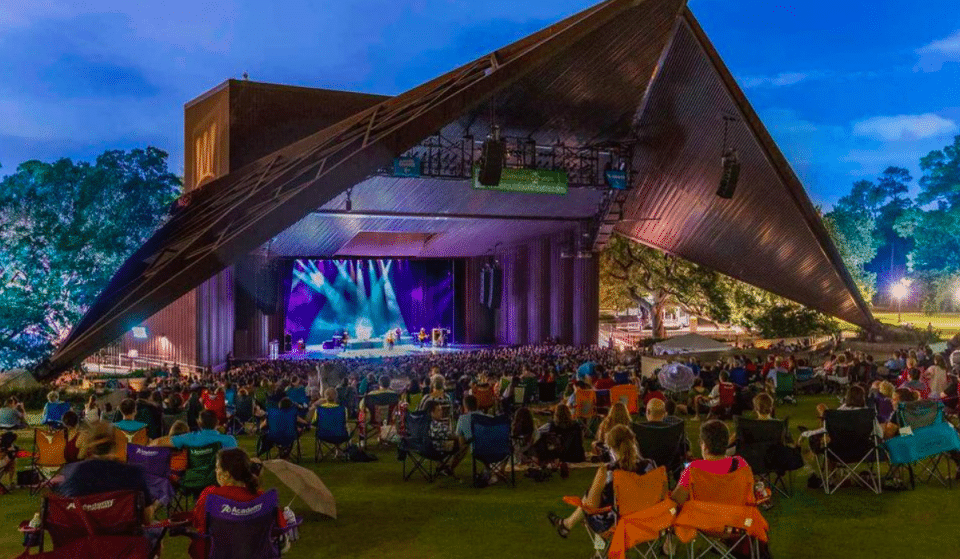 Houston Landmark Miller Outdoor Theatre Is Once Again Staging Live Performances