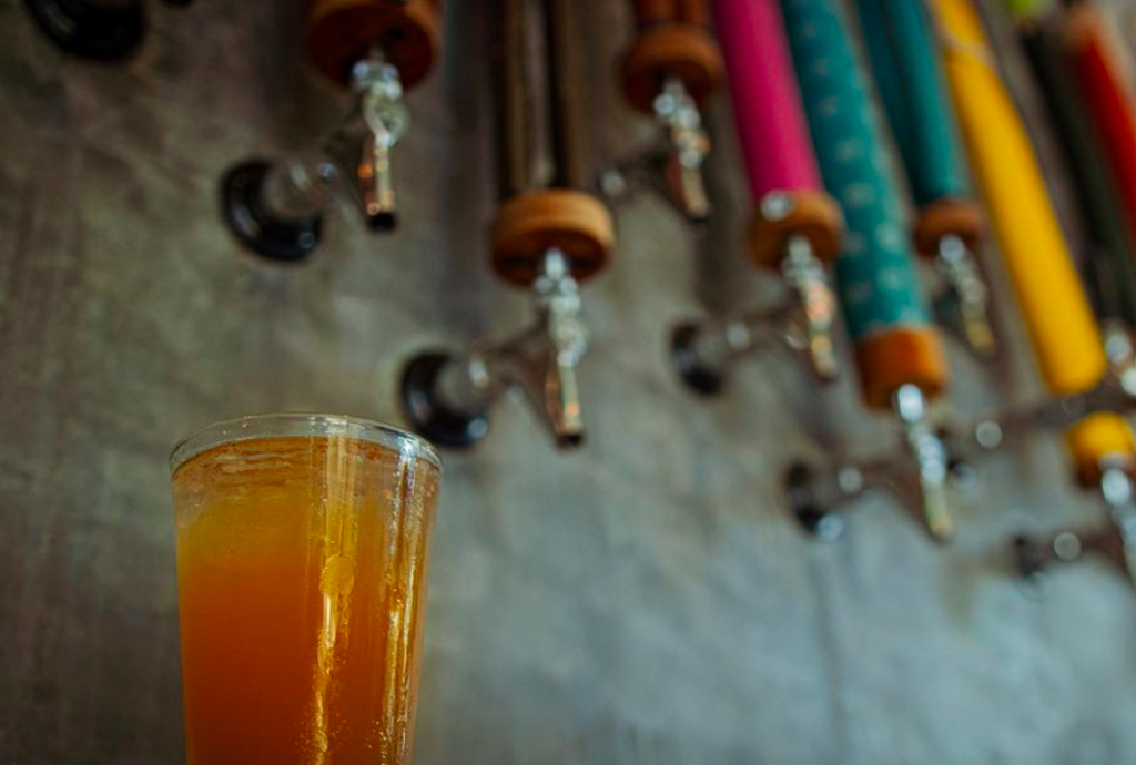 This Vibrant Houston Beer Garden Is Giving Out Free Beer To Anyone With A Vaccine