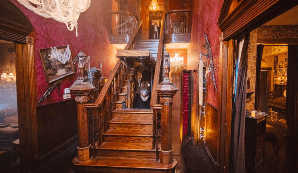 Venture Out To This Macabre Monster Mansion In Texas