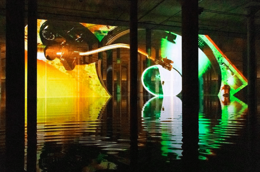 See Surreal Art Installations At This Hypnotic Underground Chamber In Houston
