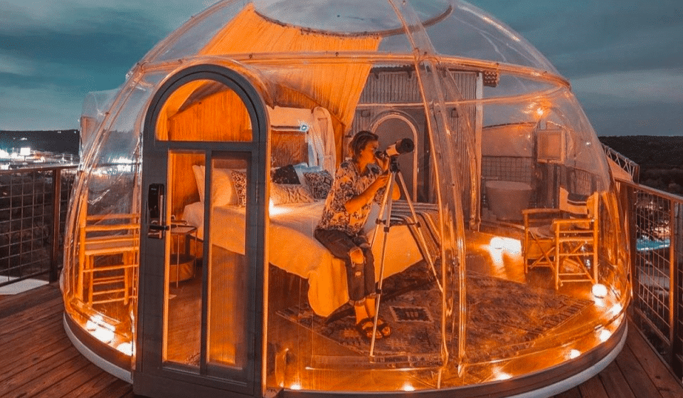 These Magical Stardomes Make For A Stellar Hill Country Glamping Experience