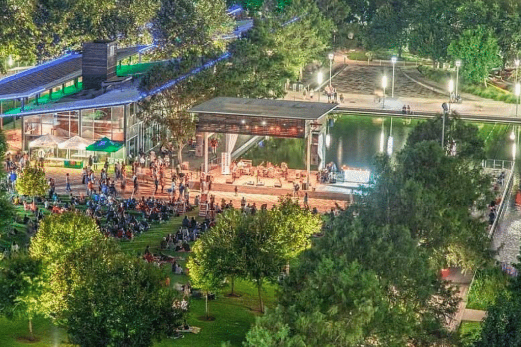 Live Concerts At Discovery Green Are Coming Back This June