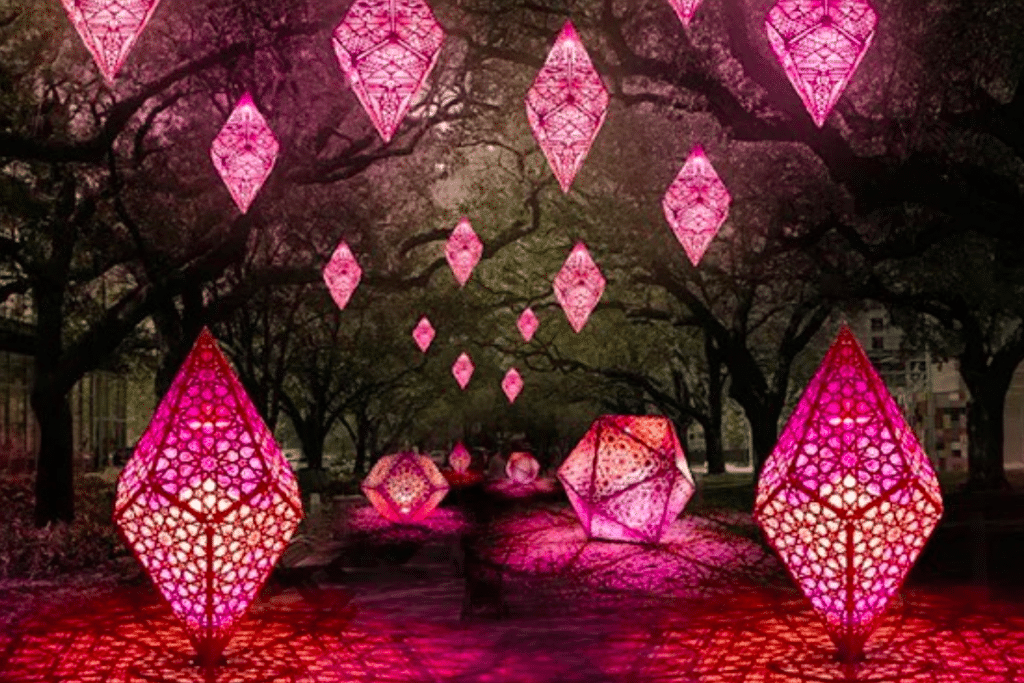 An Incandescent 'Mosaic Of Light' Art Installation Is Coming To Houston This Fall