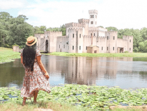 There's A Hidden Medieval Castle Just Outside Of Houston
