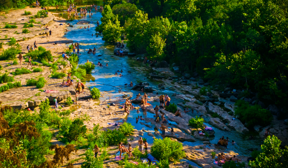 10 Of The Best Swimming Holes In Texas