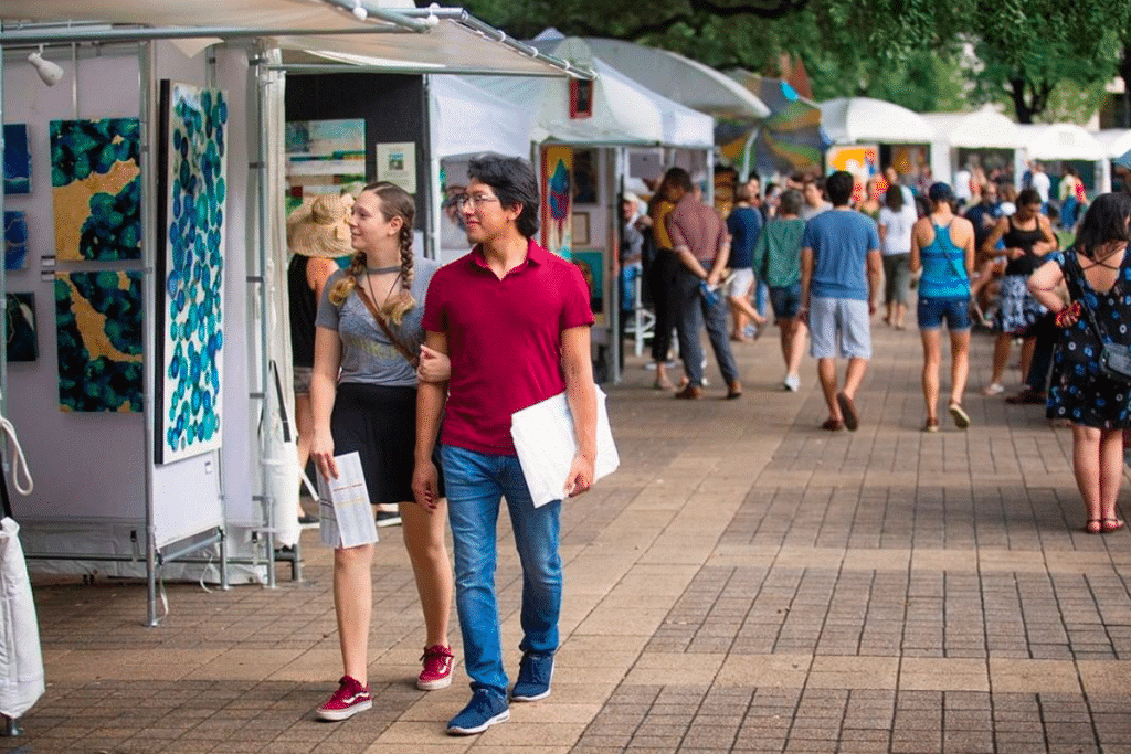 The Bayou City Art Festival Returns To Houston This October