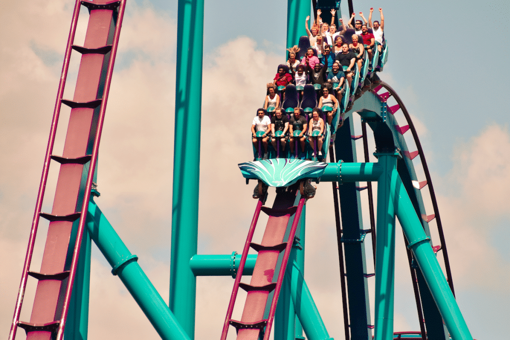 The Steepest Dive Roller Coaster In The World Is Plunging Into Six Flags Fiesta Texas Next Year
