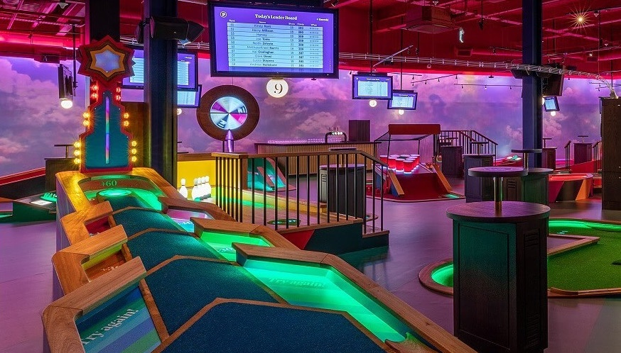 A Huge Mini Golf Concept Course And Bar Is Coming To Houston