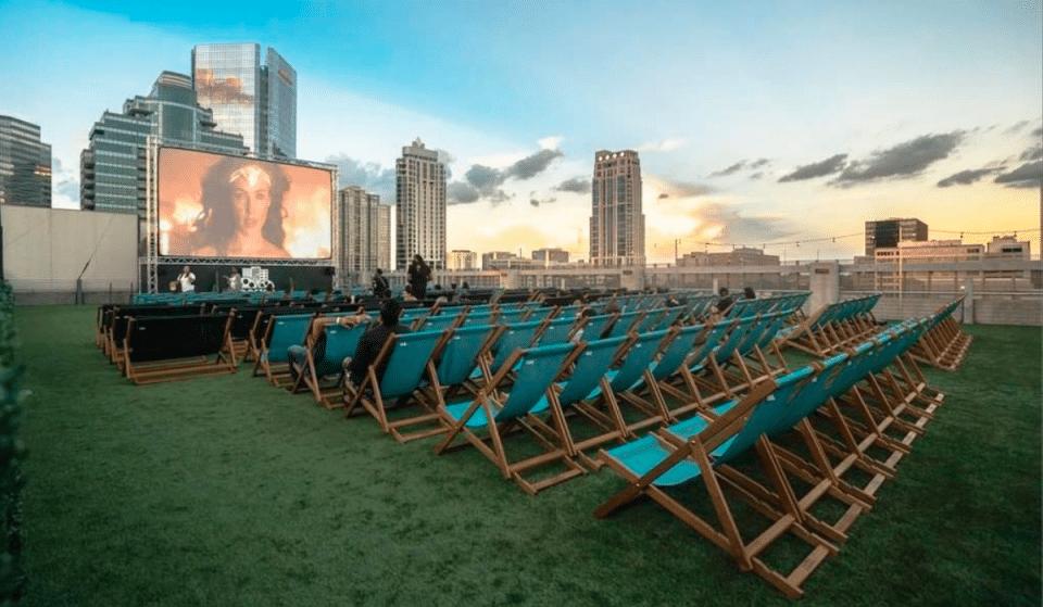 Houston's Open-Air Rooftop Cinema Is Now Open