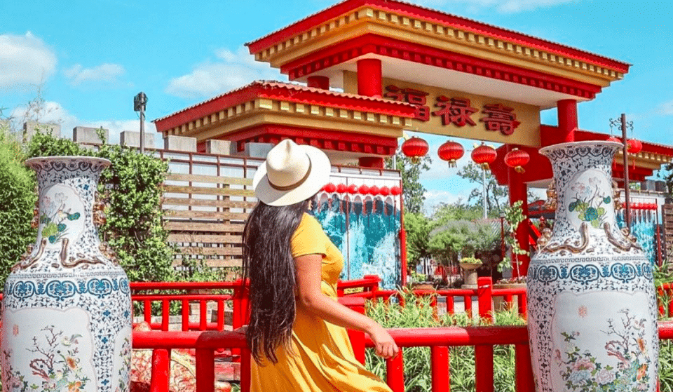 There's An Enchanting Chinese Culture Attraction Park In Houston