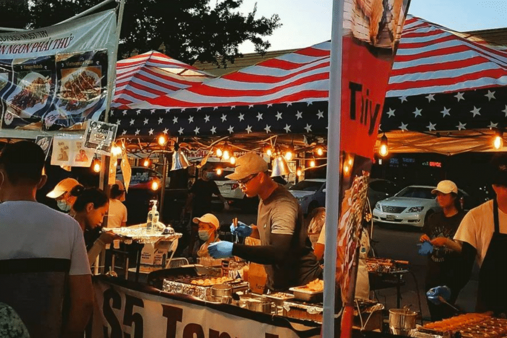 Popular Asian Night Market In Houston Returns This Weekend