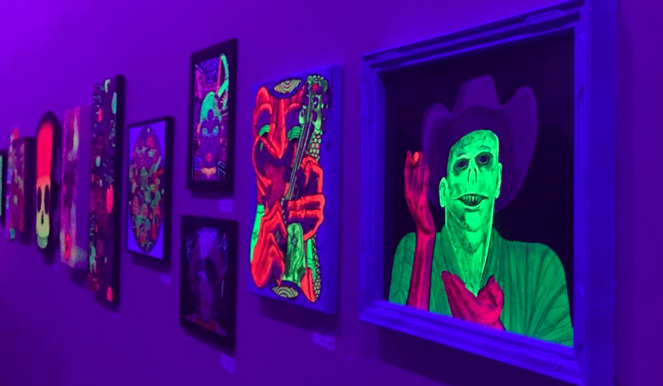 Glow Out At This Hypnotic Black Light Art Show In Houston This Week
