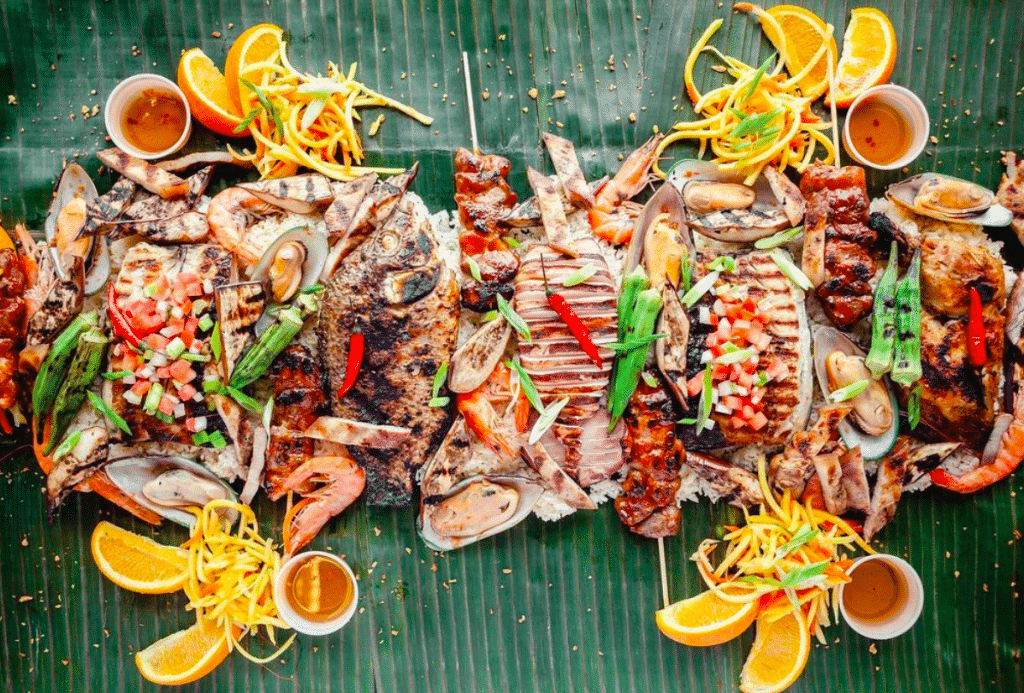 Dine Down On A Family-Style Filipino Feast At This Tropical Bar And Restaurant