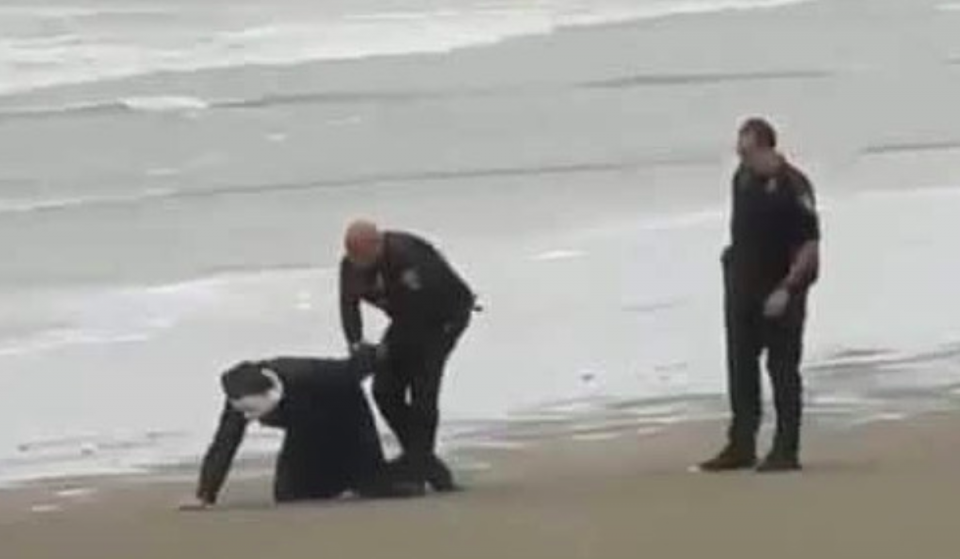 Man Dressed Like Michael Myers Gets Arrested In Galveston