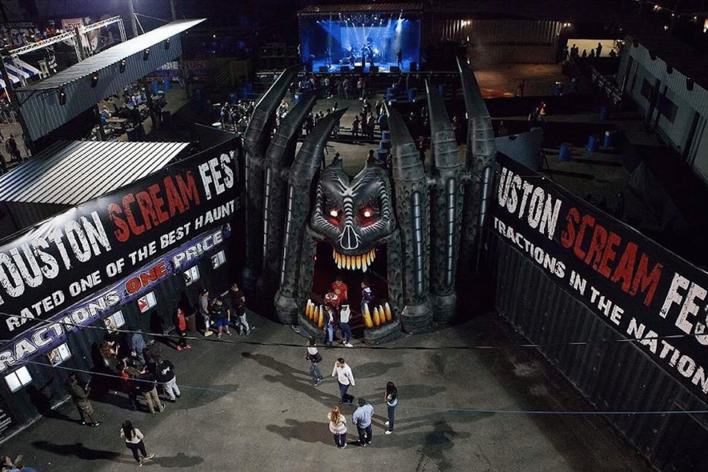 Texas's Largest Haunted Amusement Park Comes Back To Life This October In Houston