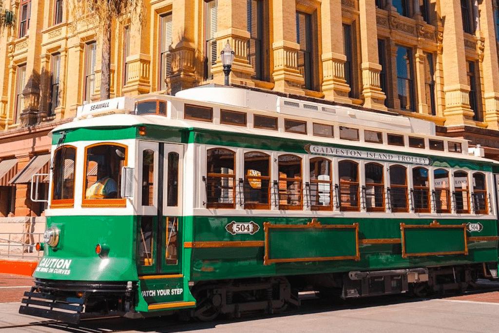 The Galveston Island Trolley Returns With Seaside Transportation This Week