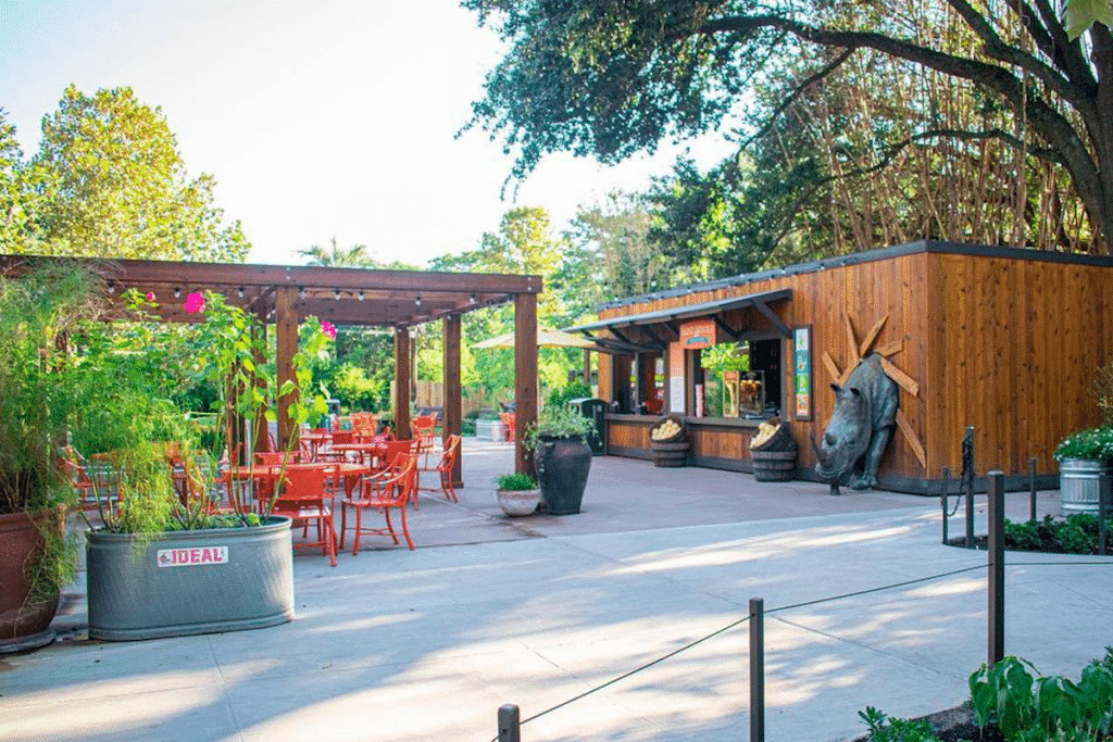 Houston Zoo Opens New Flamingo Terrace Beer Garden