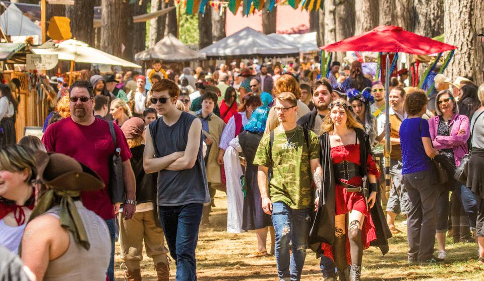 Texas Renaissance Festival, 'The Largest Renaissance Festival In The Nation', Returns This Weekend
