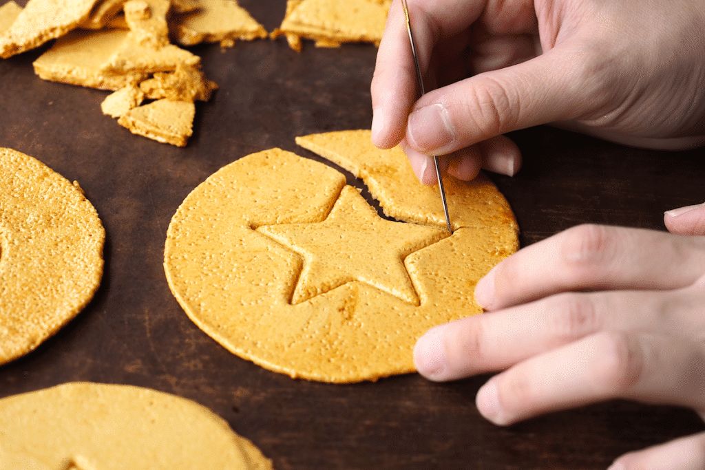 Try Your Luck With The Dalgona Cookies As Seen In 'Squid Game' At This Local Korean Restaurant