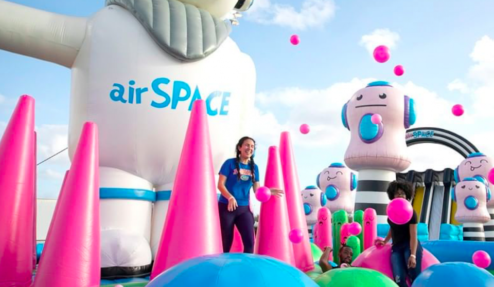 The Biggest Bounce House In The World Is Coming To Houston This Month